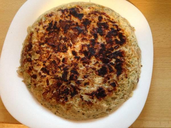 Tortilla de cebolla
