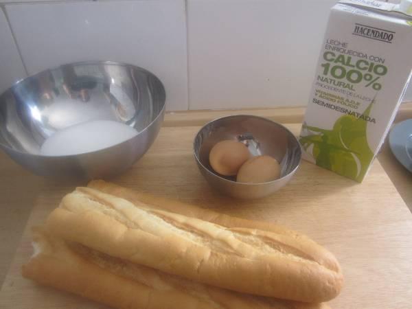 Budín de pan