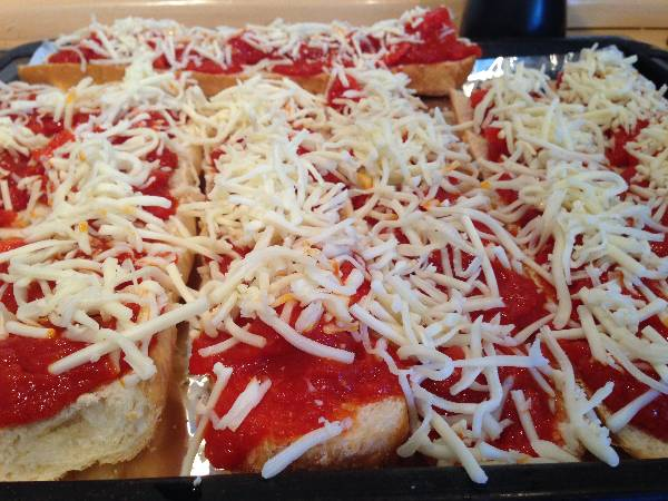Pan de Pizza