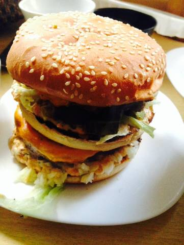 Hamburguesa Big Mac