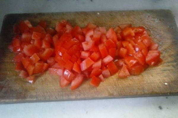 Pescado al horno con verduras