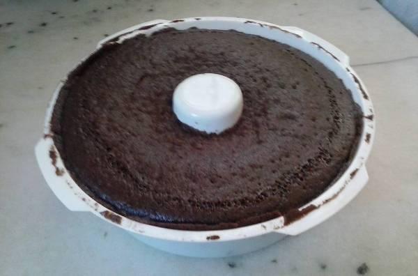 Torta de chocolate al microondas