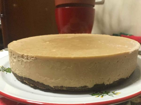 Frozen Banoffee Cheesecake