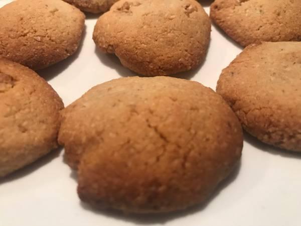 Galletitas con harina de almendras