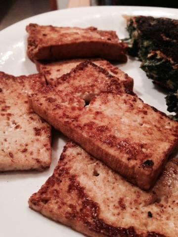 Tofu a la plancha