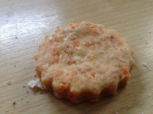 Scones de zanahorias y naranja light