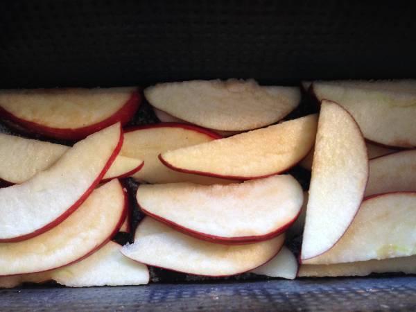 Tarta de avena y manzanas
