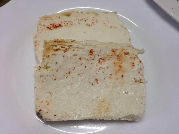 Souffle de queso mascarpone
