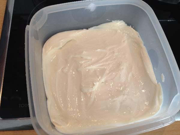 Helado de queso mascarpone