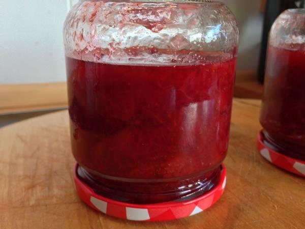 Mermelada de fresa