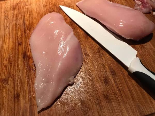 Hamburguesas de pollo caseras