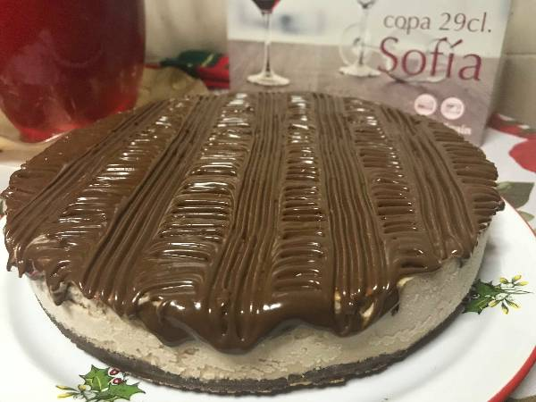 Frozen Banoffee Cheesecake