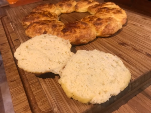 Pan de queso keto