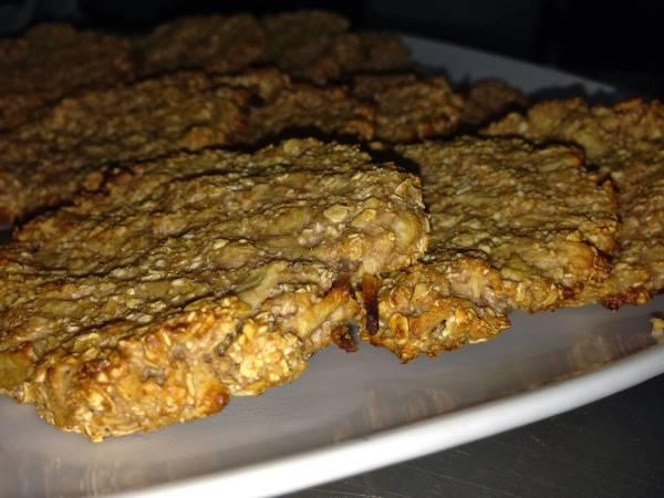Galletitas de avena con proteinas