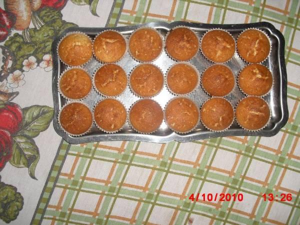 Cupcake de nuez