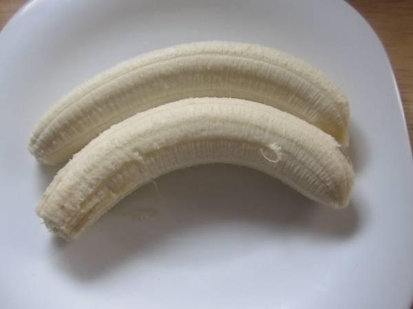Magdalenas integrales de chocolate con plátano